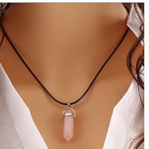 Jewelry - Rose Quartz Natural stone Necklace